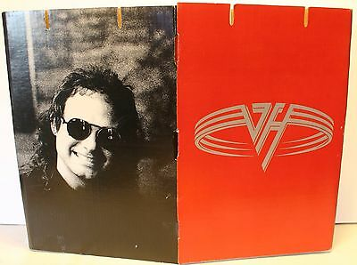 1991 Van Halen Large Cardboard 24 x 18 Inch Promotional Store Display Sign Rare