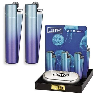 Metal Clipper Blue Gradient Lighter Limited Edition -New-