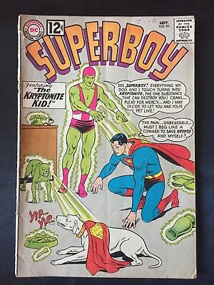 Superboy #99 (DC, 1962)  Krypto appearance. Curt Swan cover. Fast Free Shipping