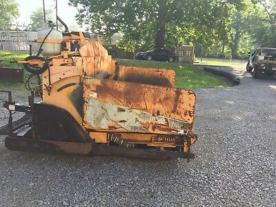 LeeBoy Asphalt Paver Paving Lee Boy Roller !Will Ship !! Gehl Lee Boy Bobcat