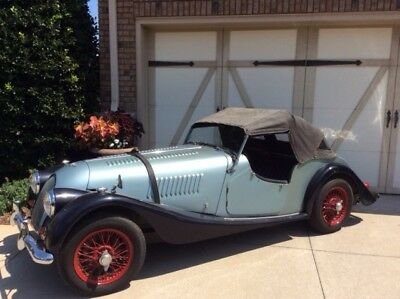 1958 Morgan Plus Four Roadster 1958 Morgan Plus 4 Fresh Barn Find