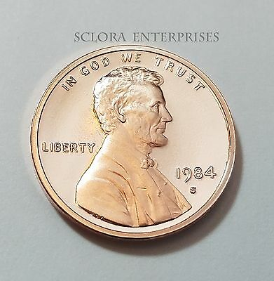 1984 S Lincoln Memorial *proof* Cent / Penny   **free Shipping**