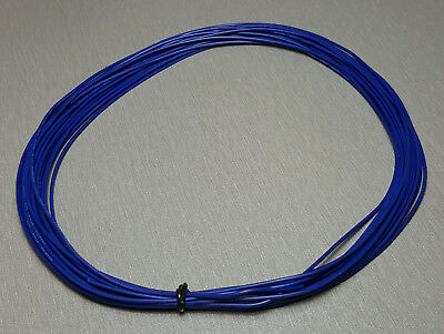 10 Metres BLUE UL-1007 Hookup Wire 24AWG 1.4mm PVC insulator