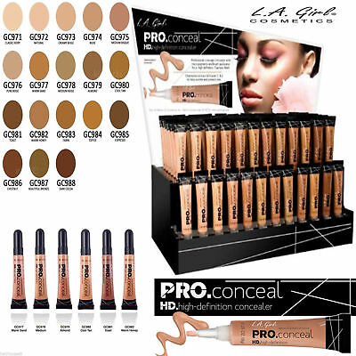 LA Girl PRO CONCEALER HD - UK SELLER!!- 100% AUTHENTIC- 24 SHADES!!