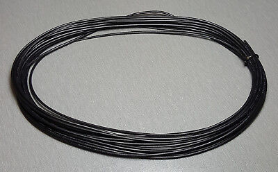10 Metres BLACK UL-1007 Hookup Wire 20AWG 1.8mm PVC insulator