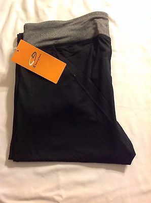 (New with Tags) Champion Women's DuoDry Ebony/Heather Pant Leggings Size L P9877