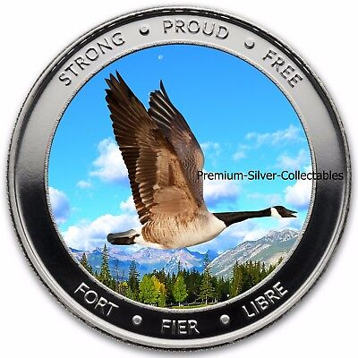 2017 Canada Celebrate 150 Years - 1 Ounce Pure Silver .9999 !