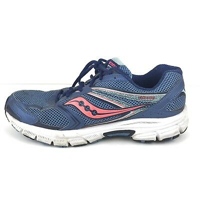 3f20a4c120d5 Saucony Women s Cohesion 9 Cross Training Running Shoe 9.5 W S15272-2 Blue  Pink