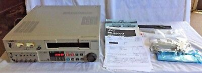 JVC BR-S800U  S-VHS record/playback VCR -Factory Serviced! - 64 hrs. on heads!!!