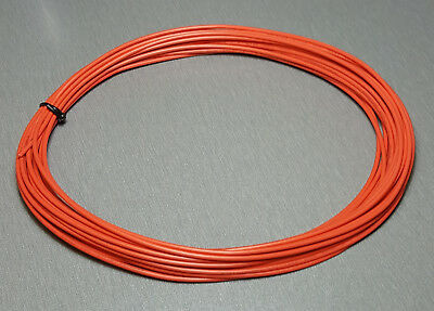 10 Metres ORANGE UL-1007 Hookup Wire 18AWG 2.1mm PVC insulator