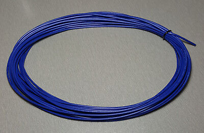 10 Metres BLUE UL-1007 Hookup Wire 18AWG 2.1mm PVC insulator
