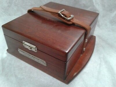 Chronometer Hamilton 22 deck watch carrying box