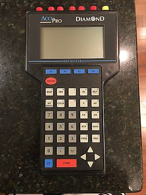 AccuPro Diamond CL-9000 Plus Calibrator w/ case and power adapter. Rochester RIS