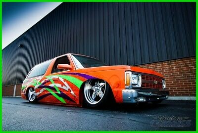 1989 Chevrolet S-10  1989 Chevy S10 Blazer House of Kolors SEMA Show Truck, 383 Stroker, Bagged, WOW!