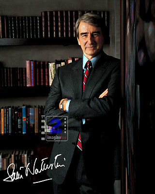 "Sam Waterston 8""x 10"" Signed Color PHOTO REPRINT"