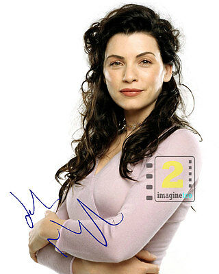 "Julianna Margulies 8""x 10"" Nice Signed Color PHOTO REPRINT"