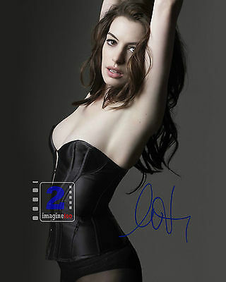 "Anne Hathaway Signed 8""x 10"" Hot Color PHOTO! REPRINT"