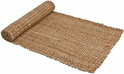 Chunky Boucle Runner Made From 100% Jute 65cm X 190cm - Fast Delivery