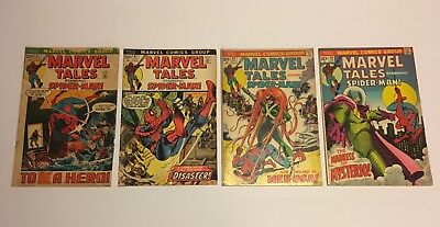 Lot of 14 Bronze Age Comics - Marvel Tales Spider-man (37-71)
