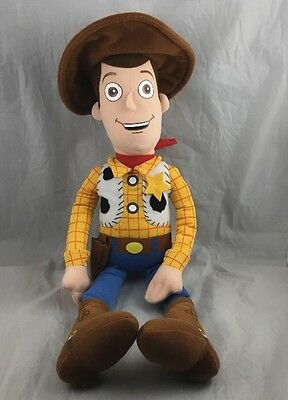 "Sheriff Woody Plush Doll Toy Story Cowboy Disneyland Disney Parks Resort 16"" New"