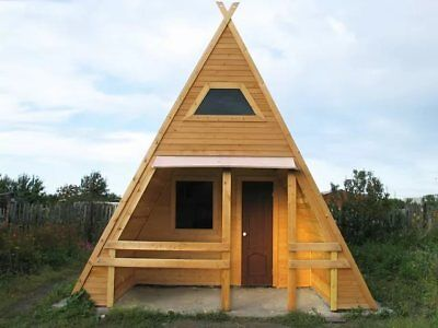 Prefab A Frame Cabin Home Tiny House Hunting Cabin Off Grid House Kit
