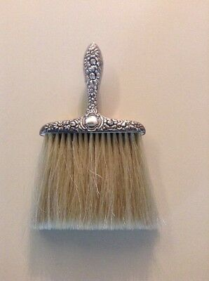 Dainty Vintage Ladies Sterling Silver Clothes Brush