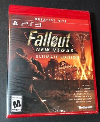 Fallout New Vegas [ Ultimate Edition ] (PS3) NEW