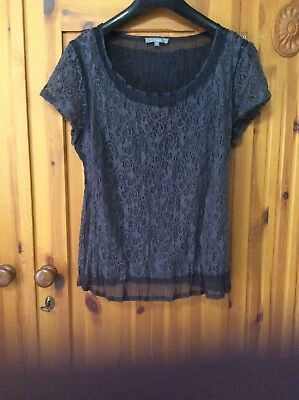 MIXIT EVENING TOP SIZE 14 Also Selling Matching Skirt