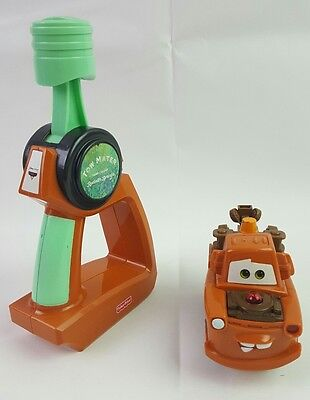 Disney GEOTRAX Fisher Price TOW MATER Turbo Rc Remote Control Toy Cars Works