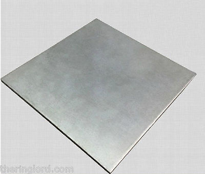 Niobium Nb 99.9% pure Plate Sheet 2 x 2 x 0.025inch  (50x50x0.6mm)  22G