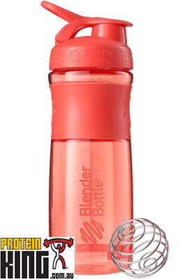 Blender Bottle Sport Mixer 825Ml Coral Protein Shaker Cup Sportmixer 28 Oz Gym