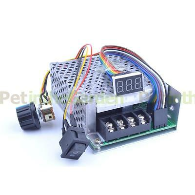 DC 10-55V 60A DC Motor Speed Controller CW CCW Reversible Switch PWM