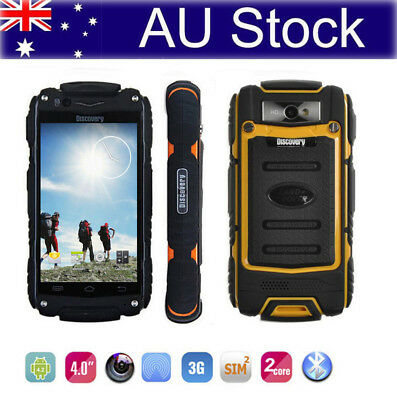 """4"""" Android Rugged 3G Smartphone Dual Core 4G Rom MTK6572 Discovery V8 Cell Phone"""