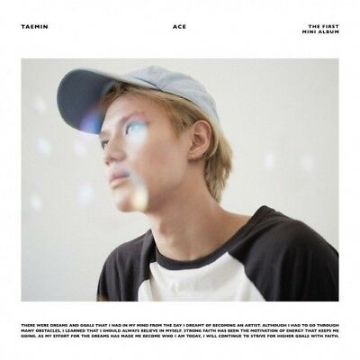 SHINEE TAEMIN [ACE] 1st Mini Album RANDOM CD+Photo Book+Photo Card+GIFT SEALED