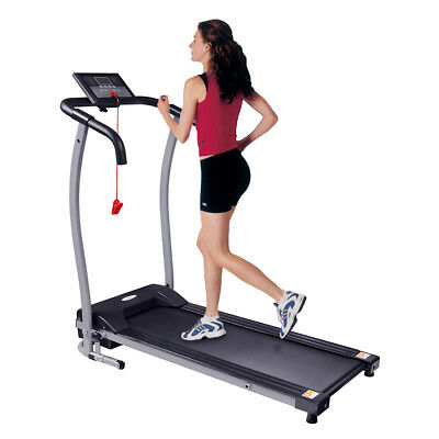 Home Gym Fitness Motorised Electric Treadmill Folding Running Machine 320MM