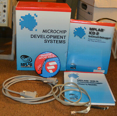 MPLAB Microchip Development System with ICD2 In-Circuit Debugger