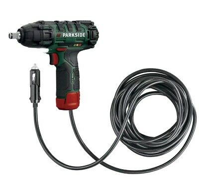 Parkside Hybrid 12V Li-ion 1/2 Drive Cordless Impact Wrench With 4 Sockets. New