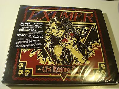 Rar Cd. Exumer. The Raging Tides. Limited 1St Edition. Digipack. Sealed. 2 Bonus