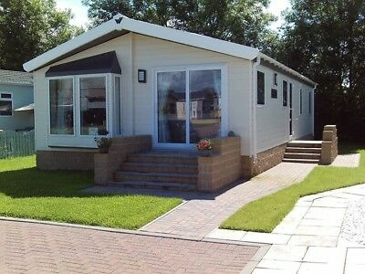 RESIDENTIAL PARK HOME 40x 20 2 BED LODGE BUNGALOW CHALET