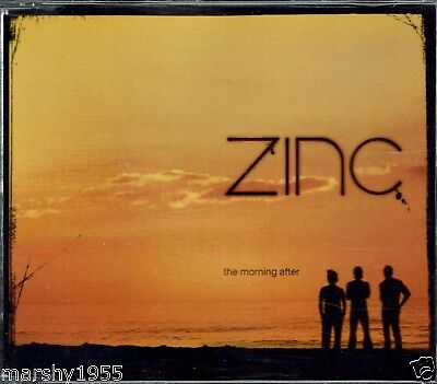 Zinc - The Morning After - 4 Track Enhanced CD Single