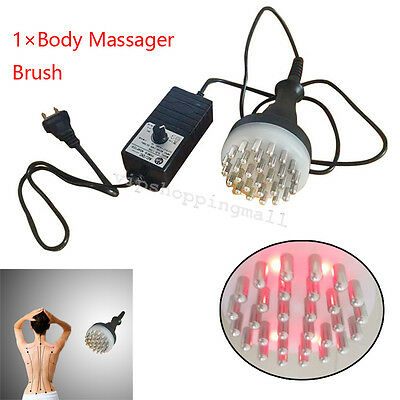 Compact Infrared Meridian Therapy Machine Full Body Acupuncture Massage Brush
