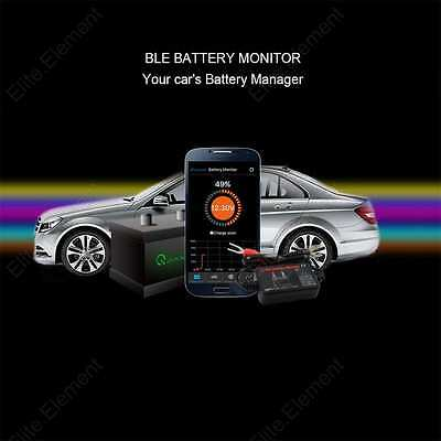 12V Car Battery Monitor Bluetooth Battery Sense Tester iPhone Android Phone APP