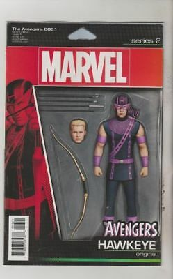 Avengers #3.1 Action Figure Variant (2016) 1St Printing Marvel Comics