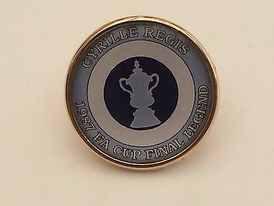 Coventry City 1987 Fa Cup Legend badges
