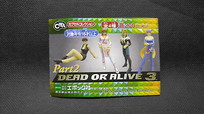 Cworks DOA 3 Dead or Alive part 2 Figure Gashapon Set of 4