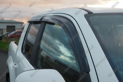 VW Amarok Eagle1 Wind Deflectors / Rain Guards - Set of 4