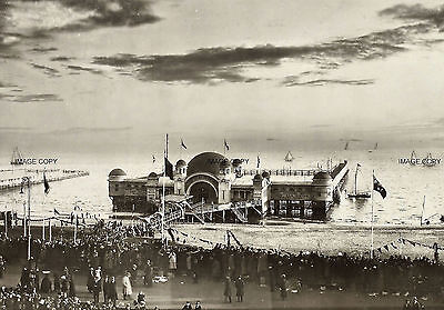 Prince Of Wales Arrival at St.Kilda.1901 Melbourne Australia