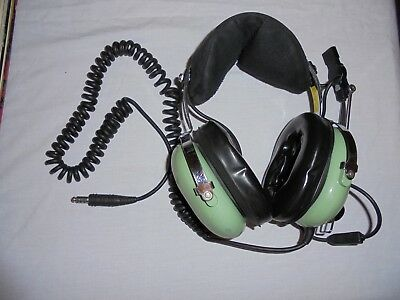 David Clark Part # 12510G-1 Model # M10/76 Aviation Headset With Microphone
