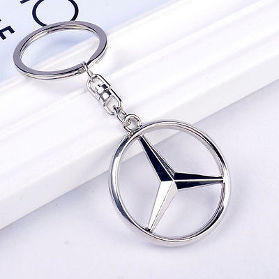 NEW  Mercedes-Benz Style Car Keychain Part Collect KeyRing key chain gob