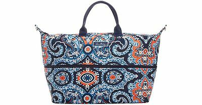 *NWT* $98 Vera Bradley Marrakesh LIGHTEN UP EXPANDABLE Travel Bag Tote Carry On